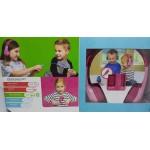 Fone de ouvido Squad 200 Motorola Infantil - Rosa- cód. 10564