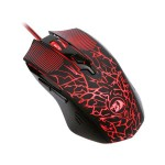 Kit gamer Redragon S107: teclado, mouse e mousepad