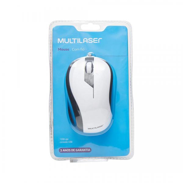 Mouse Multilaser Retrátil MO224