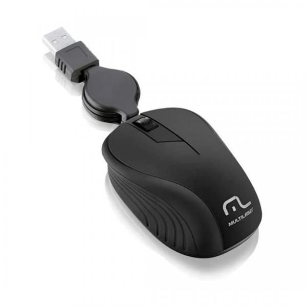 Mouse Multilaser Retrátil MO231