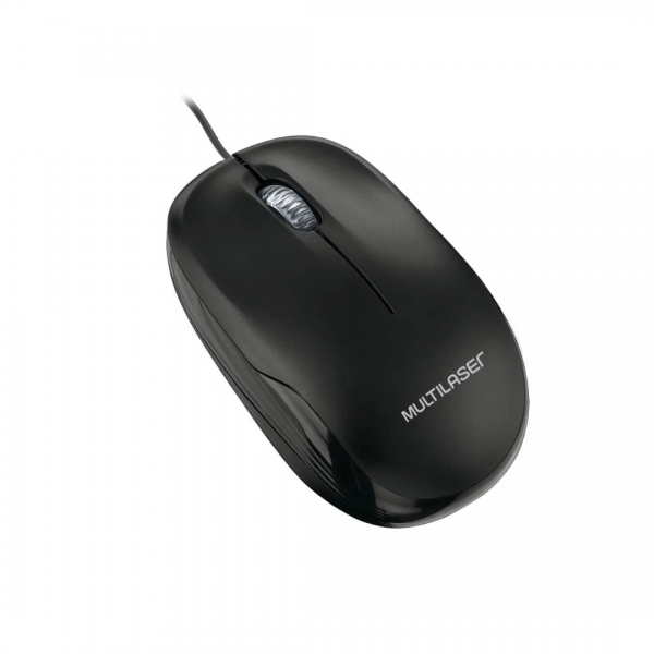 Mouse Multilaser Box Optico Preto MO255
