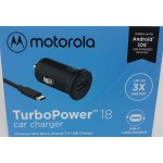 Carregador Veicular Motorola Turbo Power 18 W - cód. 11693