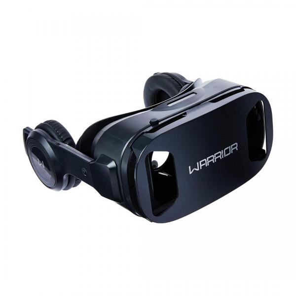 Óculos Realidade Virtual Gamer Warrior com fone JS086