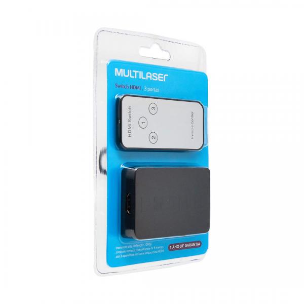 Switch Multilaser 3 em 1 WI290