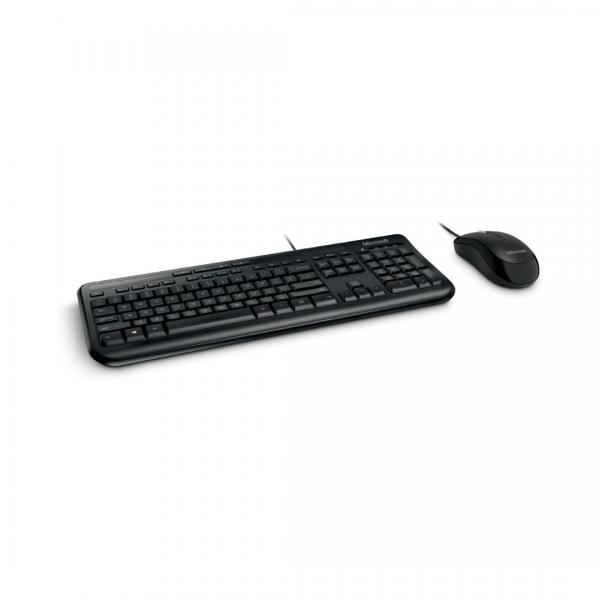Teclado e mouse Microsoft com fio APB00005