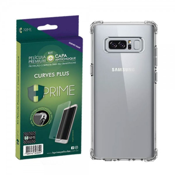 Kit Película Blindada + Capa Plus Samsung S8 Plus