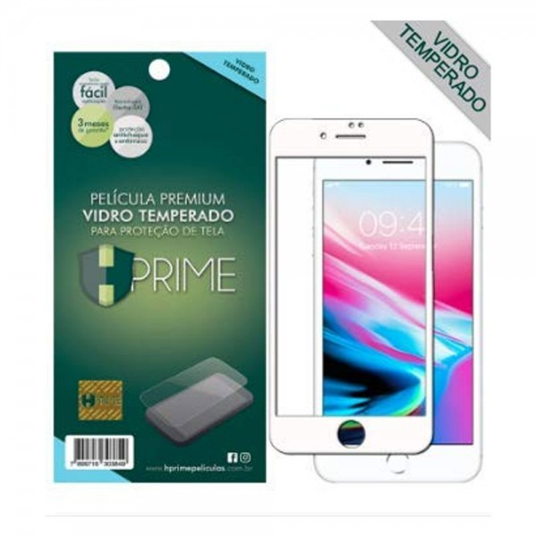 Película 6D Hp Apple Ip7/8 Plus Branco